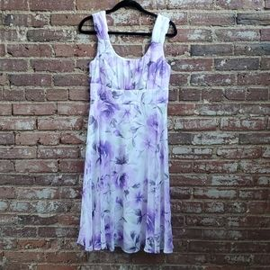 Connected Apparel Floral Dress